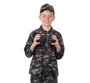 Kids Subdued Urban Digital Camo Jacket - Shirt View