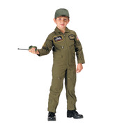 Kids Top Gun Pilots Flight Suit - View