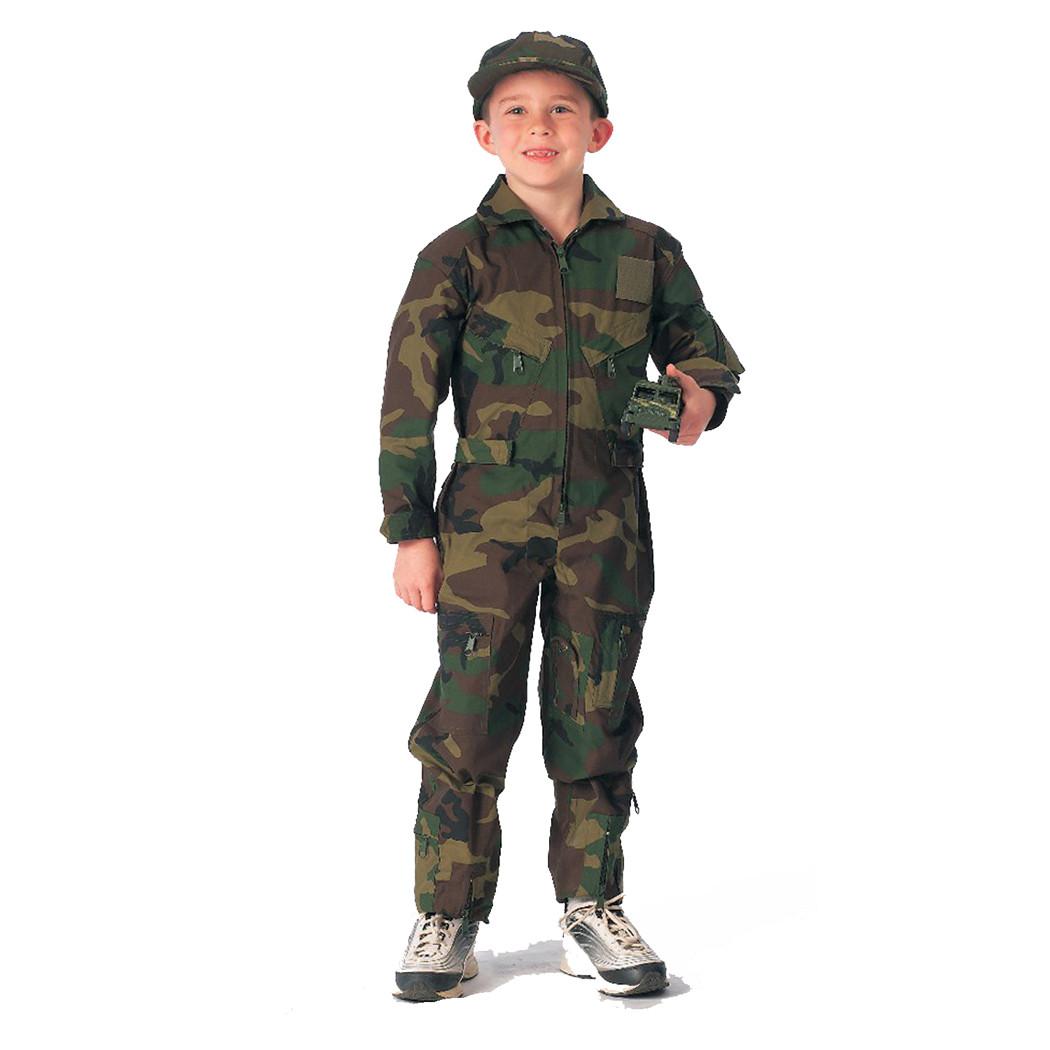 30f31a9f47b Kids Camo Flightsuit