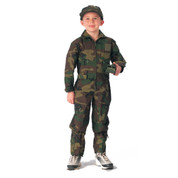 Kids Camo Flightsuit - View