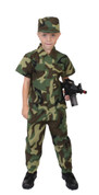 Kids Camo Soldiers Costume