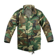 Kids Camo M-65 Field Jacket - View