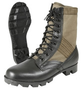 Kids Army Olive Drab Jungle Boots  - Combo View