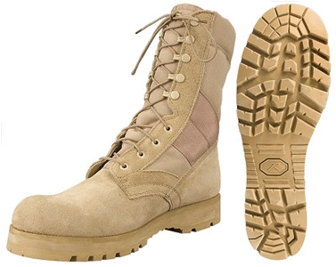 Kids Marine Style Desert Boot - Full View