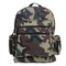 Kids Camo Gear Woodland Deluxe Nylon Backpack - Front View