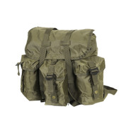 Kids Army Gear Backpack - Side View