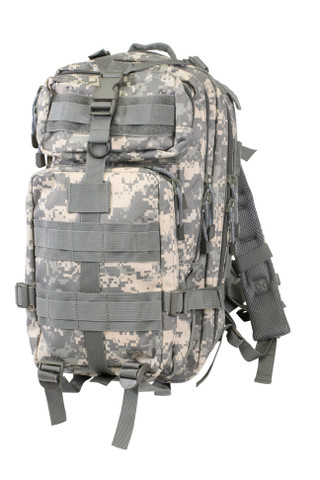 Kids Camo Army Digital Combat Backpack - Front View