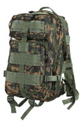 Kids Marine Digital Camo Combat Backpack - Front View