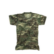 Kids Camo Vintage Camouflage T Shirt - Image View