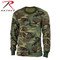 Rothco Kids Army Camo Long Sleeve T Shirt -  View