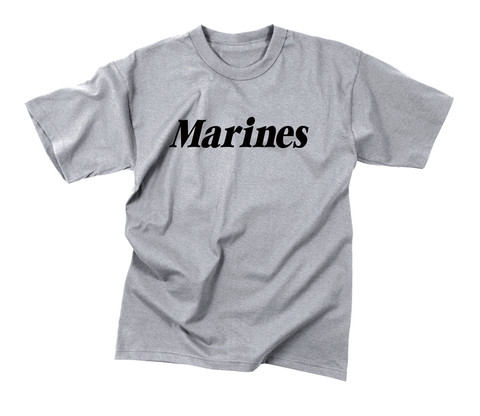Kids Marines Physical Training T Shirt - Flat View