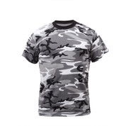 Kids Urban Camo T Shirts - Front View