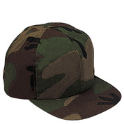 Kids Woodland Camo Cap - View