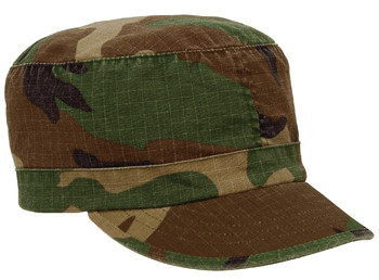 61c3db6a05c Shop Kids Vintage Woodland Camo Caps - Fatigues Army Navy Gear