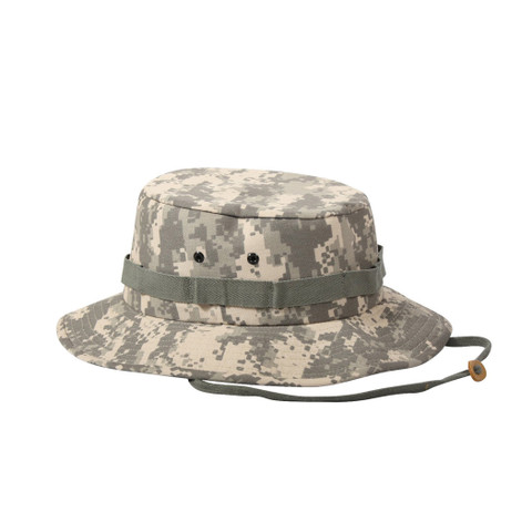 Kids ACU Digital Camo Jungle Hats - View