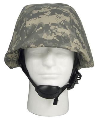 Kids Camo ACU Digital Helmet Cover - View