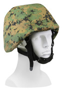 Kids Camo Woodland Digital Helmet Covers - View
