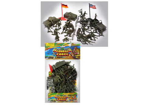 Kids Army Combat Soldier Play Set - View