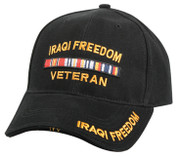 Deluxe Iraqi Freedom Veteran Cap - Low Profile