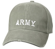 Vintage Olive Drab Army Cap-Free Shipping