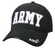 Deluxe Black Army Logo Cap-Free Shipping