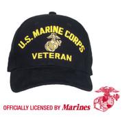 U.S. Marine Corps Veterans Cap - View