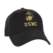 USMC Globe & Anchor Logo Cap - View