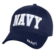 Deluxe Low Profile Navy Cap-Free Shipping