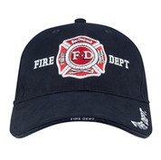 Deluxe Low Profile Fire Department Cap