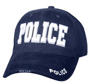 Deluxe Navy Blue Low Profile Insignia Police Cap