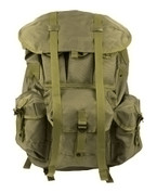 Large Olive Alice Field Pack w/Frame