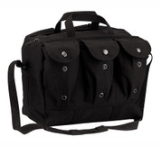 Black Canvas Medical Equipment/Mag Bag - View