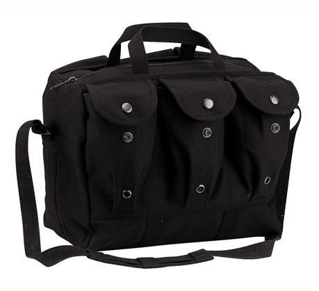 Black Canvas Medical Equipment/Mag Bag - View