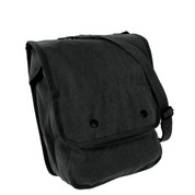 Tactical Black Map Case Bag - Side View