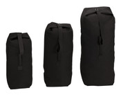 Black Tactical Top Loading Duffle Bags - View
