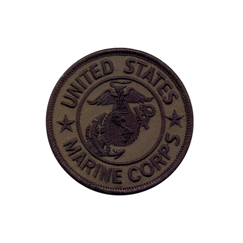 Subdued Marine Corps Patch - View