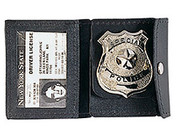 Leather Police I.D./Badge Holder
