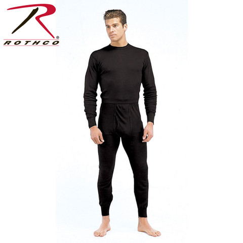 Performance Polypro Underwear Crew Shirt - Rothco View