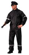 Hi-Visibility Reflective Police 2-Pc Rainsuit