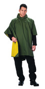 Reversible Rubberized Nylon Poncho