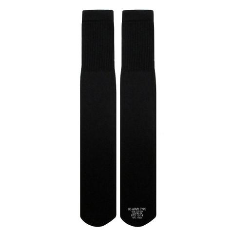 Black Army Tube Socks - View
