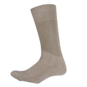 Khaki Army Cushion Sole Sock - View