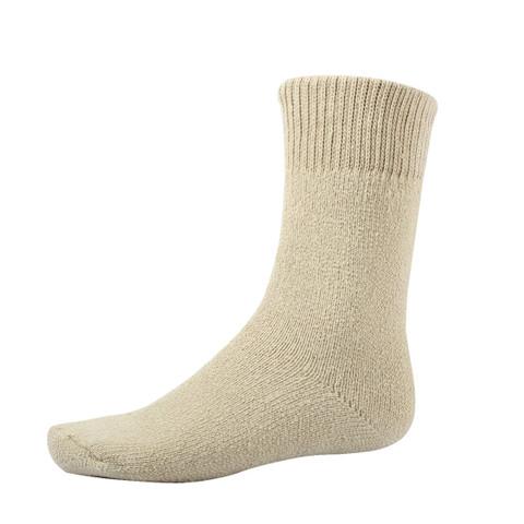 Khaki'' Outdoor Thermal Boot Socks - View