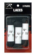 "3 Pack 72"" Nylon Boot Laces - View"