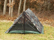 Camouflage 2 Man Trail Tent - Outside View