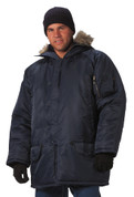 Rothco Navy N 3B Parka - Model View