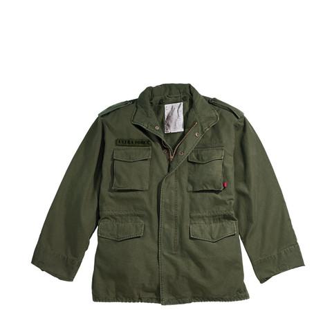 Olive Drab Vintage M-65 Field Jacket - View