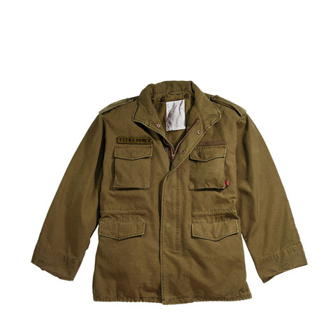 Vintage Earth Brown M65 Field Jackets - View
