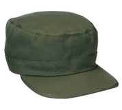 Olive Drab Adjustable Military Fatigue Cap