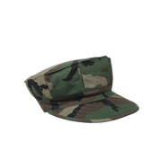 Woodland Ripstop Cotton Marine Cap-